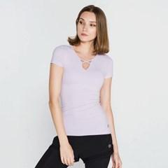 [메디테이션] TS7101 라벤더 여성 요가복 운동복 티셔츠_(600508702)