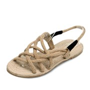 kami et muse Rope strap flat sandals_KM18s302
