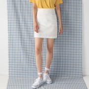 minimal h-line skirt