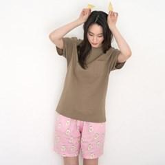 [w] Sunny Egg Shorts (반바지 단품)
