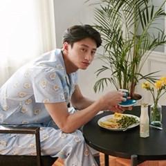 [m] Sunny Egg Short Pajama Set