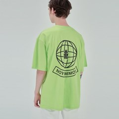 YOUTH PLANET TEE NEON