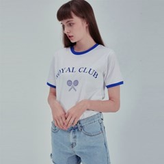 ROYAL CLUB TEE WH