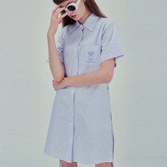 TENNIS SHIRT ONE-PIECE BL
