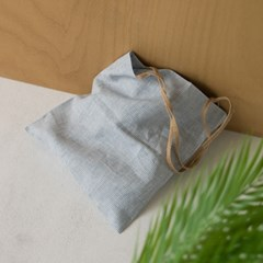 pinstripe eco bag