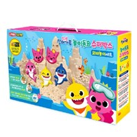 핑크퐁 놀이동요 슈퍼박스 모래놀이세트 천연항균모래