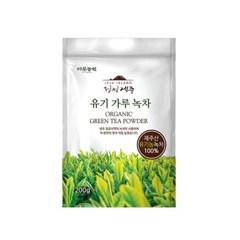 다농원 청정제주 유기 가루녹차 200g_(679888)
