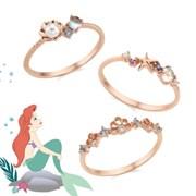 [디즈니X클루] Ariel's Dream 실버 미스링 3종 택1
