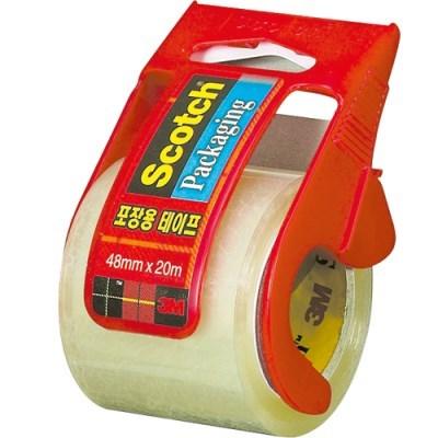 스카치 포장용테이프(132D/투명/디스펜서 포함/48mmX20M_(13313241)