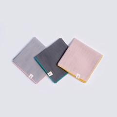 [율그란] 무형광 오가닉 거즈 유아스카프 3 SET grey