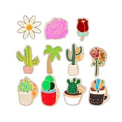 (올리자토이) [나만의뱃지] 식물 뱃지 모음