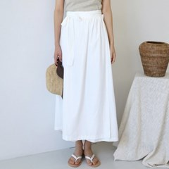 Smooth volume wrap skirt