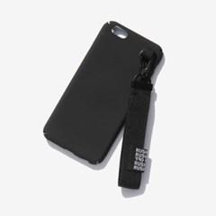 Belt Keyring I-Phone Case-Black/ 벨트키링 아이폰케이스-블랙