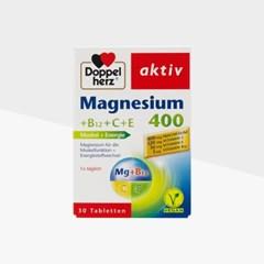 도펠헤르츠 액티브 마그네슘400+비타민 B12+C+E 30개입_(1101807)