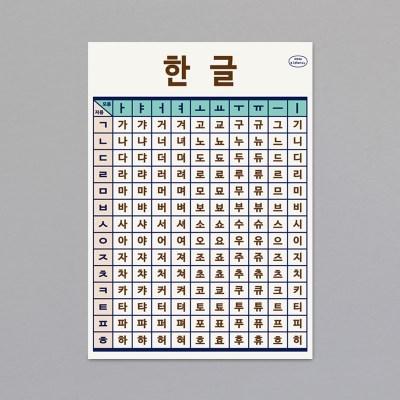 PLAY POSTER SET - 한글