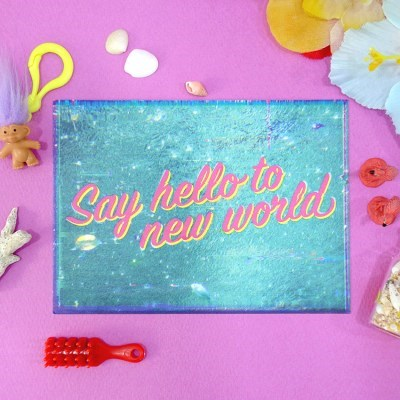 Television Postcard_New World