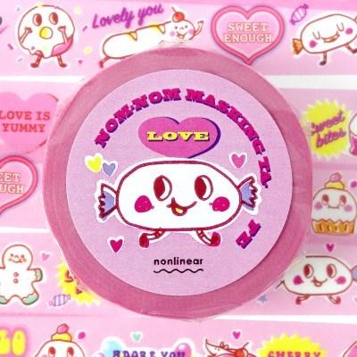 Nom-nom Masking Tape_Love