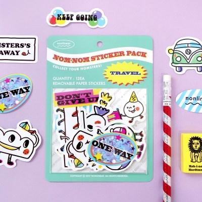 Nom-nom Sticker Pack_Travel