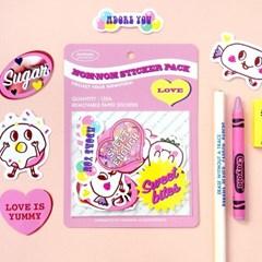 Nom-nom Sticker Pack_Love