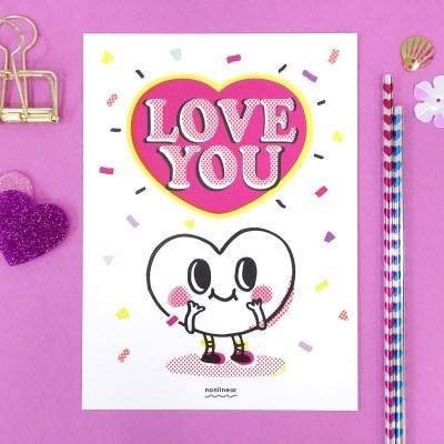 Postcard_Love You