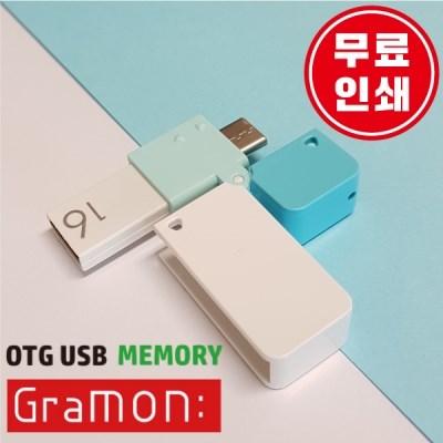 5핀, c타입 OTG USB 그라몬 64GB