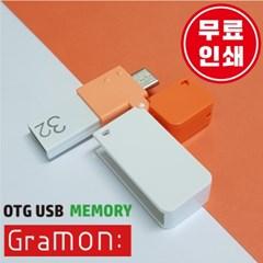5핀, c타입 OTG USB 그라몬 4GB