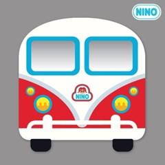 니노 미러보드 안전거울 (미니버스빨강 정면)