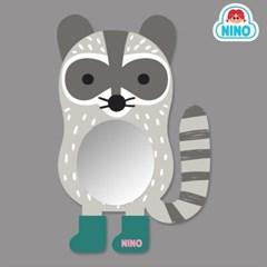 니노 미러보드 안전거울 욕실거울 (너구리)