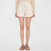 basic waist half pants (s, m, l)_(989340)