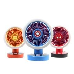 마블 어벤져스 LED 핸디형 선풍기