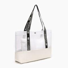 PEM M  PVC 투명백&파우치 세트 (2COLOR)
