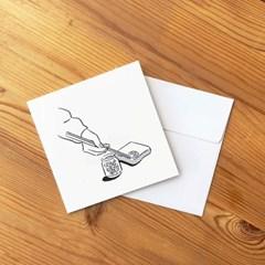 서울민 LEMON TOAST postcard set