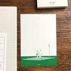 서울민 WALKING postcard set