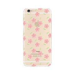 Simple Pink Flower (JF-034B) Jelly Case