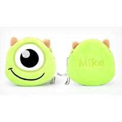 마이크얼굴 동전지갑