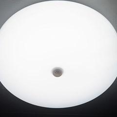 베이직 원형 LED 15W 현관 센서등_(1256422)
