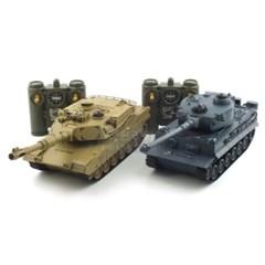 TIGER vs M1A2 배틀탱크 RC 세트 (YAK239007SET)