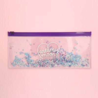 Pinky holic clear pouch_P_5.Glitter_Shooting Star