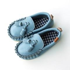 오엘로 로퍼 스카이블루 / 아기 신발 구두 걸음마신발 남아 여아