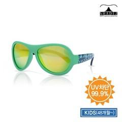 자외선차단 유아 선글라스 디자이너 - 리프그린(주니어2_(861929)