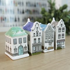 북유럽 세라믹 하우스 장식소품 4P셋트