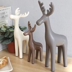 북유럽 스타일 사슴 장식소품 3P 셋트
