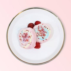 썰어먹는솜사탕 소미롤 딸기쏙쏙(60g)