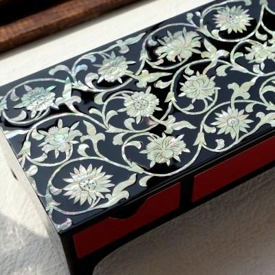 '모란당초무늬' 장형 보석함