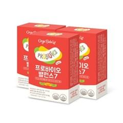 가베베 프로바이오 밸런스7 4BOX (총100포) 유아유산균