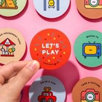 LET'S PLAY 메모리게임 카드 5X10
