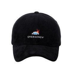 [아케이드코드] POLICE CODUROY BALL CAP (Black)_(858099)