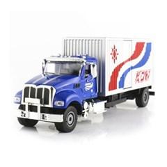 트럭 중장비 모형자동차 BOX VAN TRUCK (KDW251310BL)