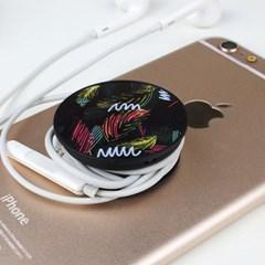 2U 디자인 스마트톡 거치대 홀더 이어폰정리