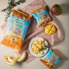 티미 유기농 터틀 퍼프 바나나 앤 망고 멀티팩